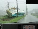 南相馬 流された漁船
